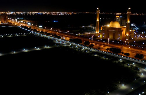 Bahrain by night